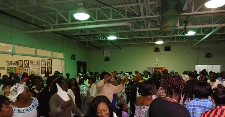 Members Thanking God For Granting Them New Year