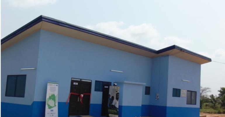 CHPS Compound provided by USAID/KOICA at Lotako