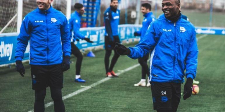 Patrick Twumasi Joins Teammates After Christmas Break