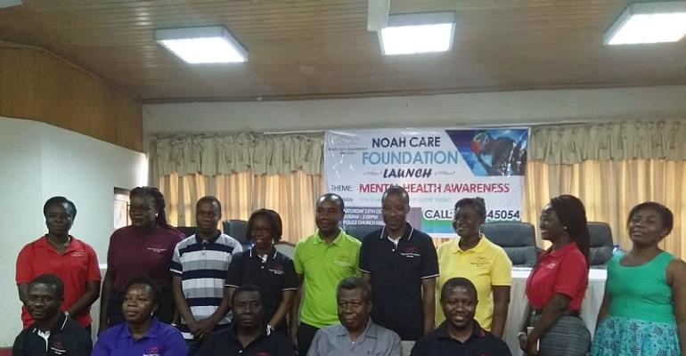 Noah Care Foundation launch in Accra Ghana.
