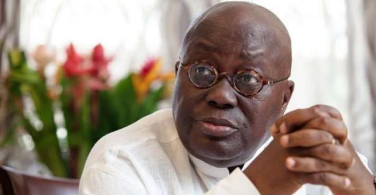 President elect, Nana Akufo-Addo