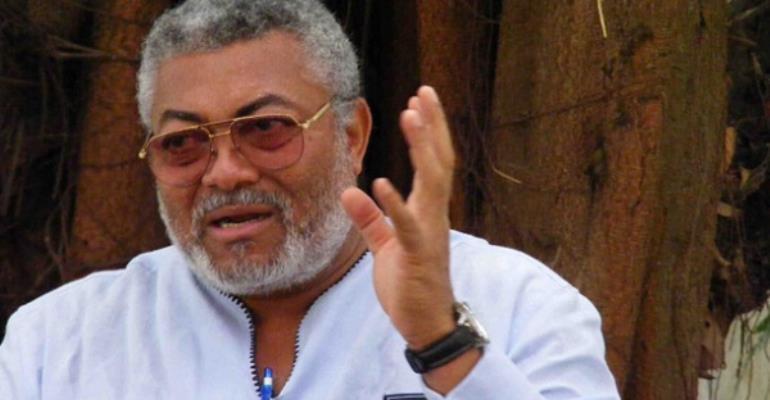 VIDEO: Rawlings 'Disgraces' Oko Vanderpuje in Parliament House