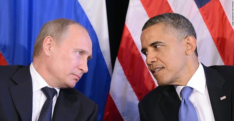 Obama is from Venus, Putin is from Mars. Obama is an Idealist, Putin is a Realist