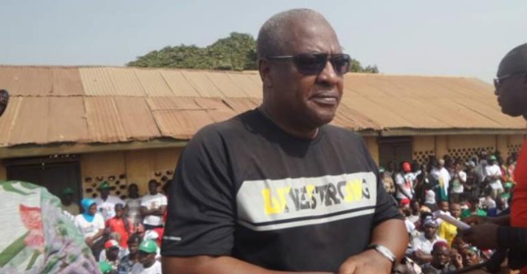 Akufo-Addo Running An Unaware Government--John Mahama