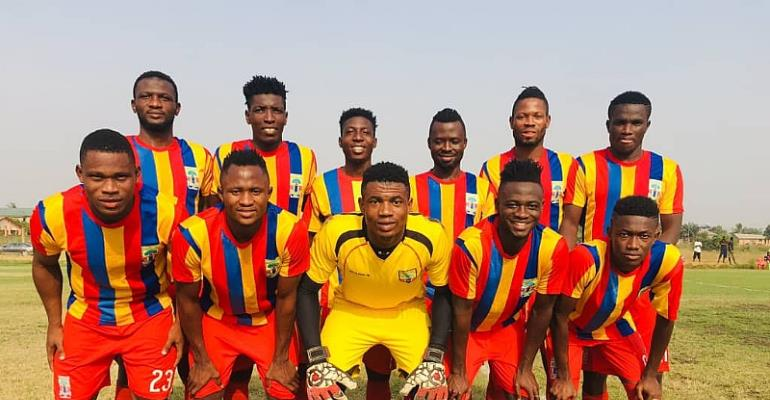 Joseph Esso On Target As Hearts Beat Future Soccer Academy In Friendly