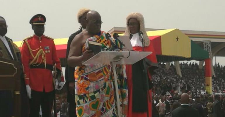 Tweets: What Ghanaians are saying about Presidential inauguration
