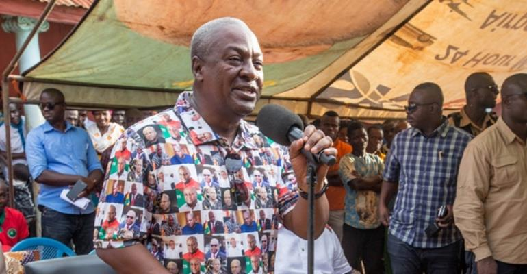 Arrest Lordina And Me If We Own DKM--Mahama Dares Government