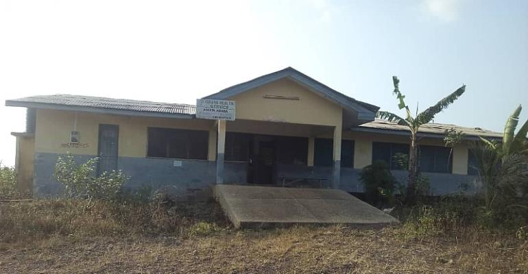 Another CHPS Compound Abandoned In Western Region