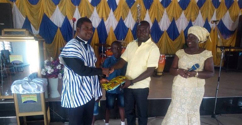 NPP Chairman Supports Widows In Damango
