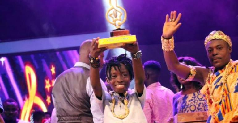 Righteous, winner of the first edition of Adom TV's Nsoromma