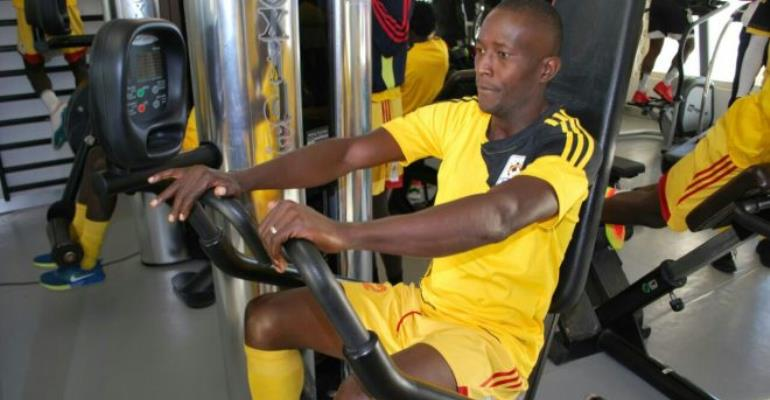 Cranes striker wants to score just a goal at Afcon to make history