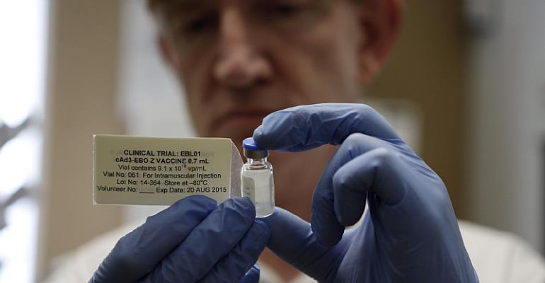 Experimental Ebola vaccine trial shows positive prospects