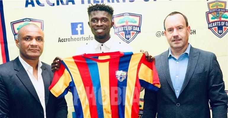 Free-agent Charles McCarthy joins Hearts of Oak