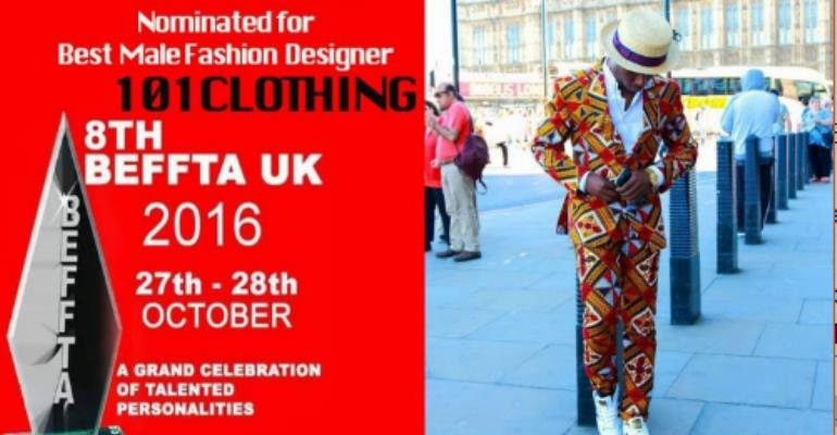 101 Clothing Nominated For 8th Beffta Awards UK