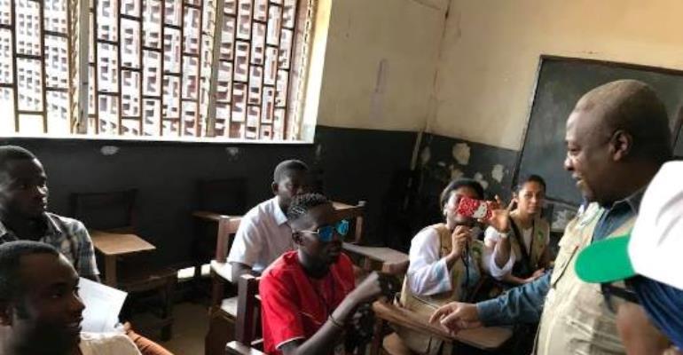 Former President Mahama Lauds Liberia's Peaceful Electoral Process