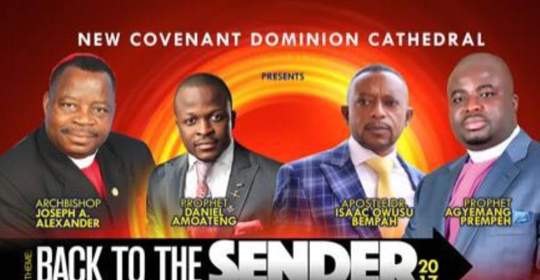 Apostle Dr. Bempah and Prophet Coming to New York for a 5 Day Service