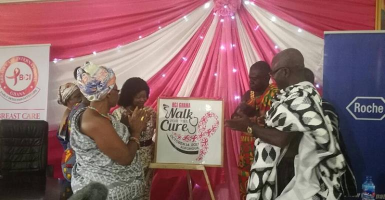 New Juaben Chiefs To Walk For Breast Cancer