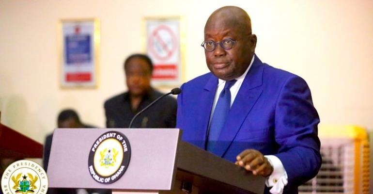 To The President Of The Republic Of Ghana His Excellency Nana Addo-Dankwa Akufo-Addo