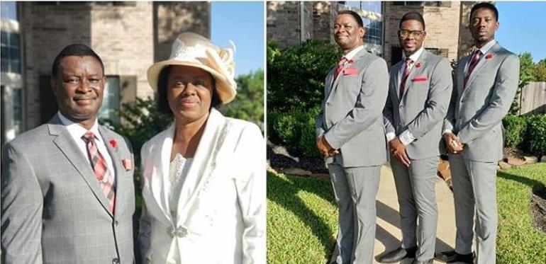 Mike Bamiloye with wife Celebrates 30th year Wedding Anniversary