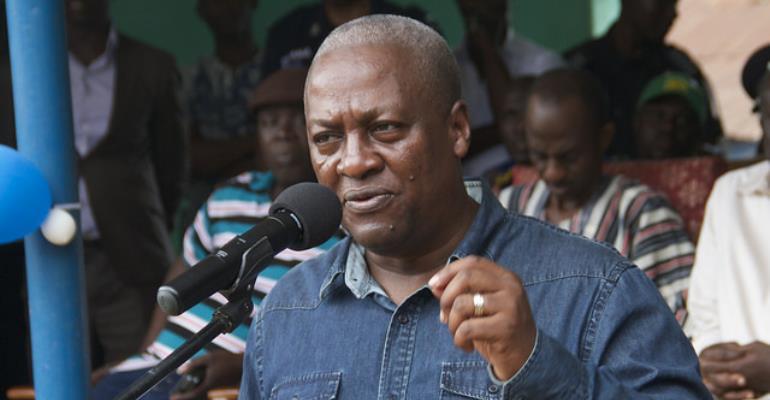 Former President Mahama