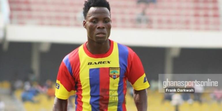Midfielder Samudeen Ibrahim Suspended by Hearts of Oak