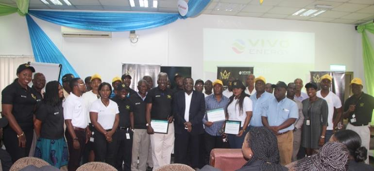 Vivo Energy Holds Annual Safety Day To Encourage Employees, Contractors And Partners To Prevent Safety Incidents