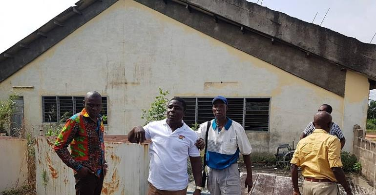 Cape Coast MCE And Management Of Pamasonik Home Appliances Ltd Tour Project Site