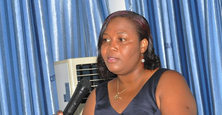 Mrs. Susan Adu-Aryee, Country Director for World Education Inc.