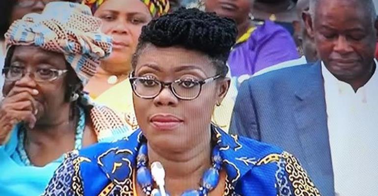 Ursula Owusu-Ekuful – Minister of Communications