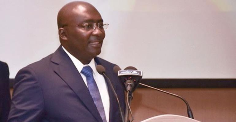 Vice President Dr Mahamudu Bawumia
