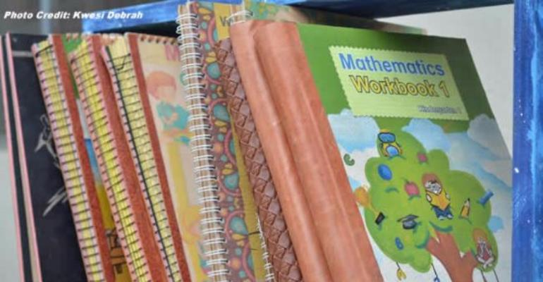 KNUST Printing Children's Book With Leather