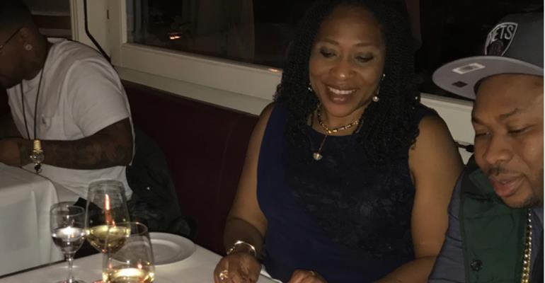 Tonto Dikeh's Ex-hubby Olakunle Churchill Celebrates Mother