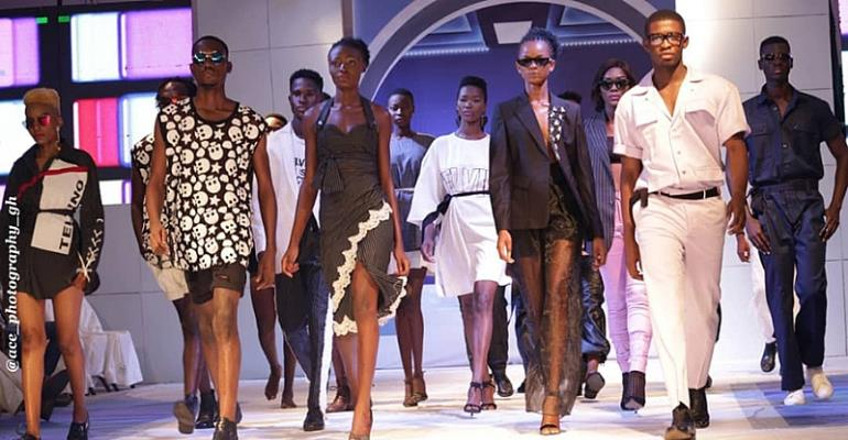 Ghana's Best Designers Showcase Amongst The French Ambassador At Accra Fashion Week