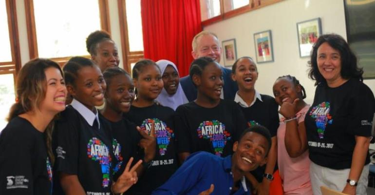 Half a Million Young Coders: Africa Code Week 2017 Launched in Tanzania