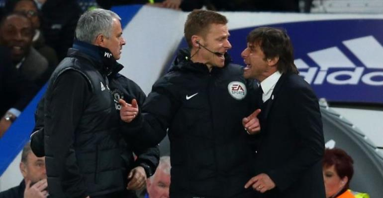 Antonio Conte hits back at Jose Mourinho over injury jibe