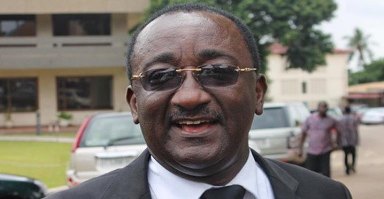 Dr. Owusu Afriyie Akoto, Agric Minister