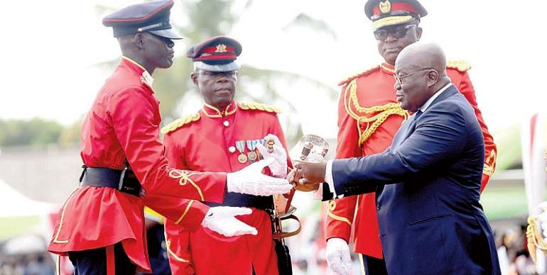 106 Military Officers Commissioned