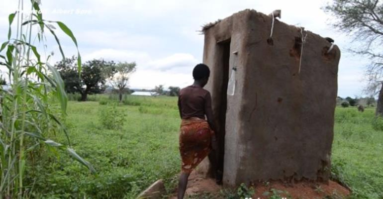 Achieving SDG 6 - Residents of Aberingabisi take local initiatives, construct Latrines