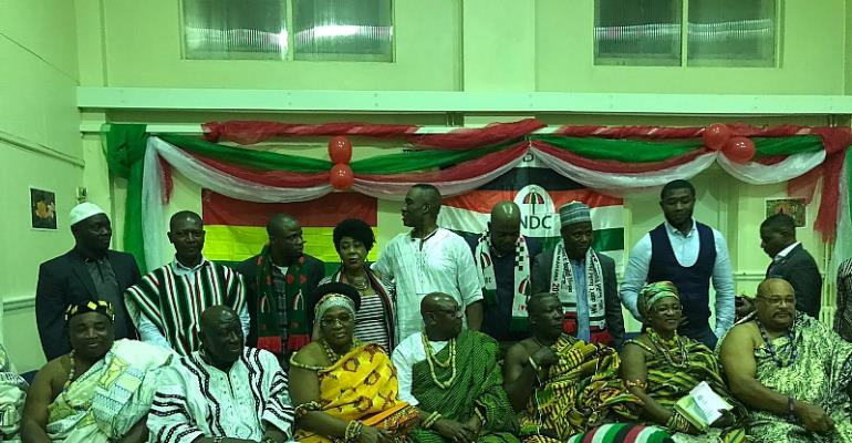 NDC UK/Ireland Chapter holds post election thanksgiving and reconciliation conference