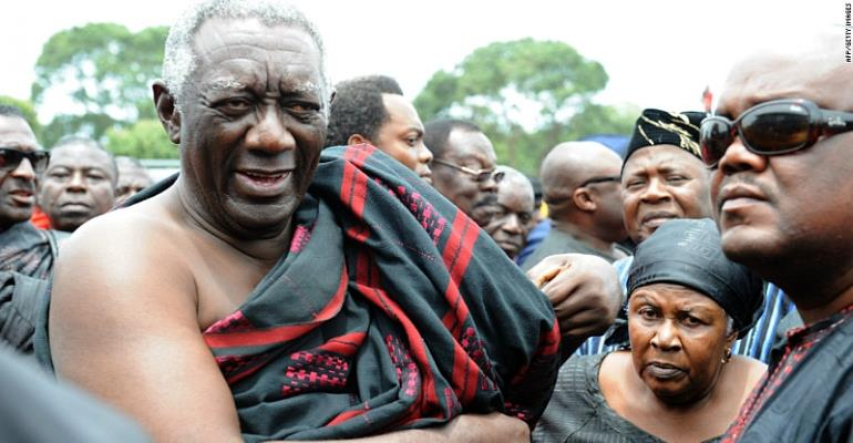 Voltarians should be grateful to Kufuor and Mills, not Mahama
