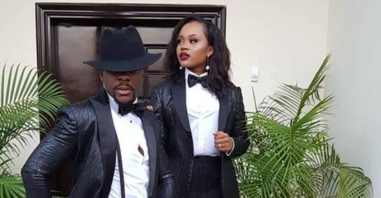 OAP, Ebuka  Uchendu Steps out with Wife in Michael Jackson Style