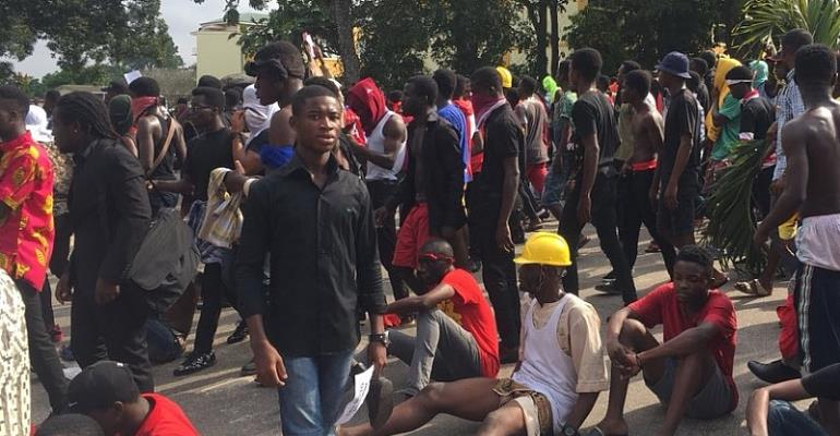 KNUST UNREST: NUGS Wants Vice Chancellor And Dean Of Student To Resign
