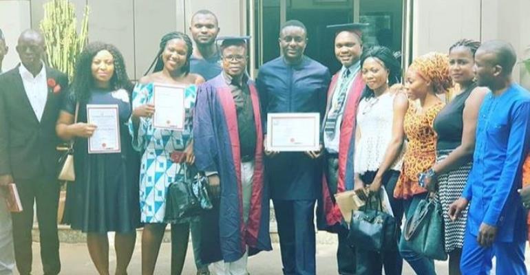 Actor, Emeka Ike Honoured as HUMANITARIAN FRIENDLY PERSONALITY & AMBASSADOR