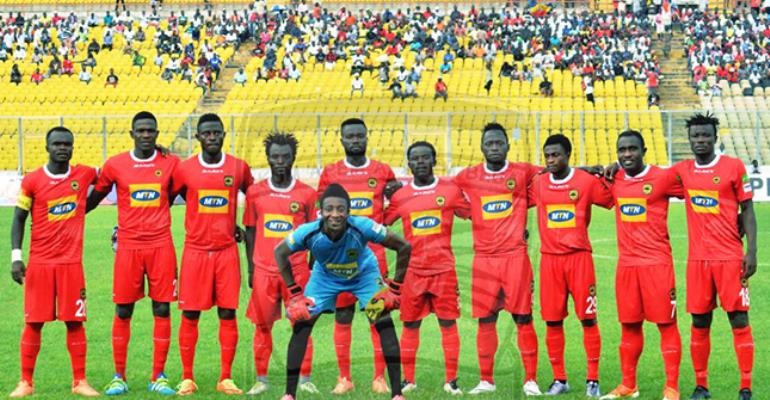 Asante Kotoko Ranked No.1 In Ghana, 37th In Africa; Hearts Ranked 5th In Ghana