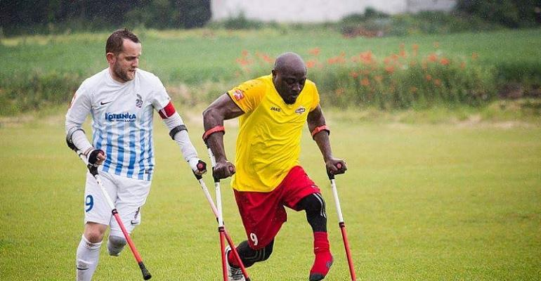 ECG Supports Ghana Amputee Football Team