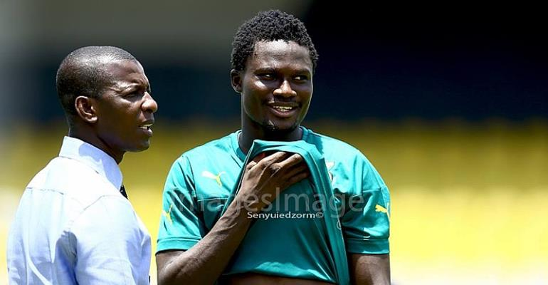 'Furious' Asamoah Gyan demands protest over Black Stars goal snub