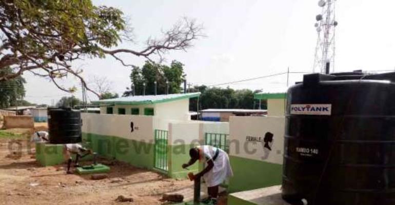 Bolga Saint John's Benefit From Toilet Facilities