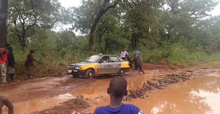 District chief of Kpandai Cries for development - Kofi Tatablata