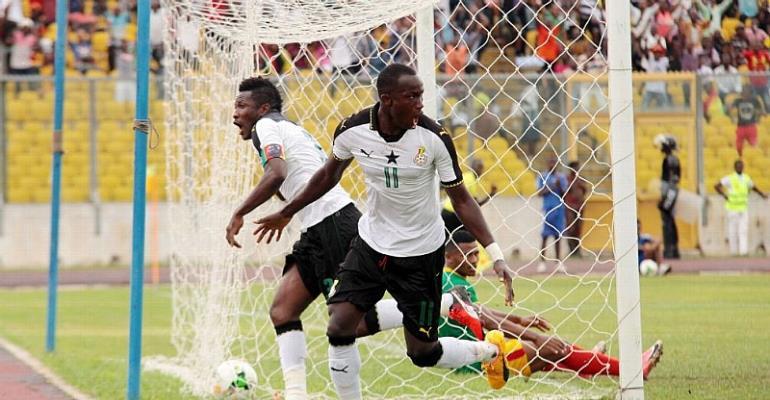 Uganda vs Ghana (2018 World Cup qualifier)