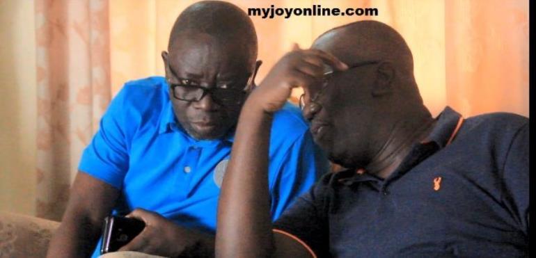 Kwaku Asomah-Cheremeh and Kwadwo Owusu Afriyie